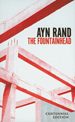 The Fountainhead Novel cover